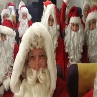hire a group of Santas