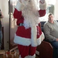 hire a santa for a family home visit, kent