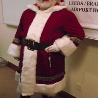 hire a santa for a wedding