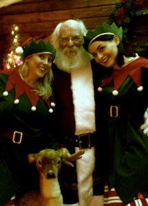 hire professional santas in Warwickshire