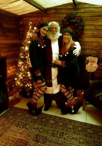professional father christmas hire & elves