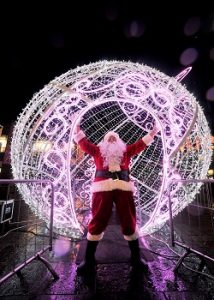 Santa for Christmas Light Switch Ons Surrey