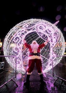hire a professional Santa in Glasgow