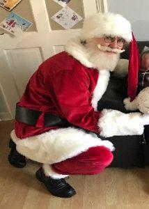 hire a professional Santa cardiff