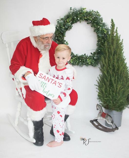 hire a professional Santa
