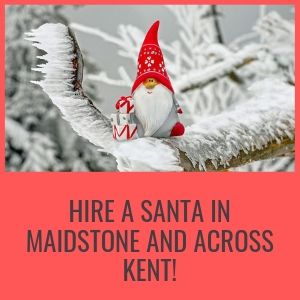 Hire a Santa in Maidstone and Across Kent!