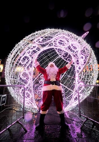 Santa for hire for in Edinburgh