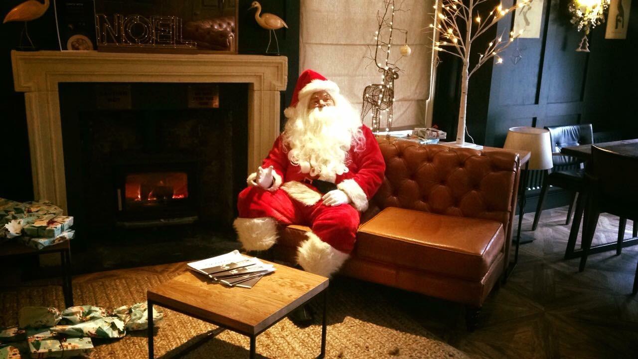 Santa hire in Brighton