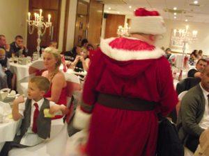 hire santa for a wedding