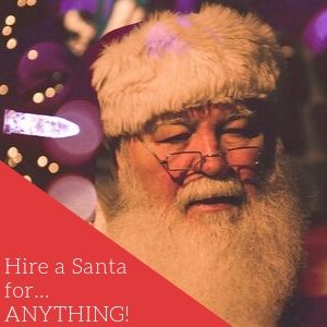 Hire A Santa For Anything