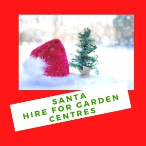 Santa Hire For Garden Centres