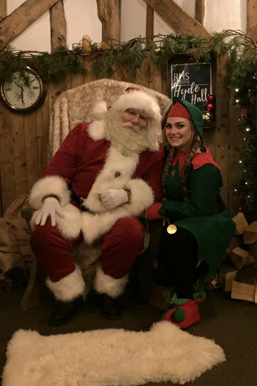 hire a santa for a garden centre