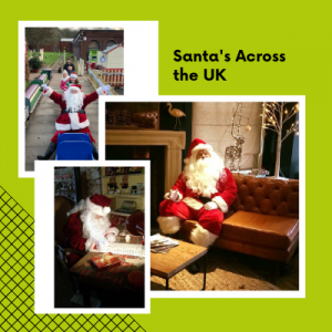 Street Santa for hire