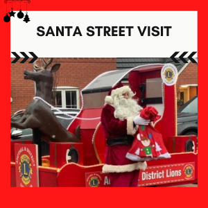 Hire A Santa To Visit Your Street