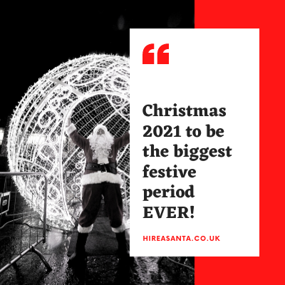 Christmas 2021 To Be The Biggest Festive Period EVER!