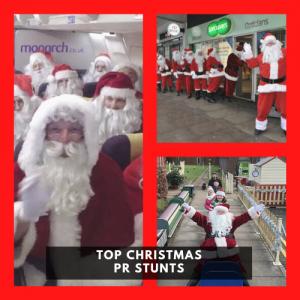 TOP CHRISTMAS PR STUNTS