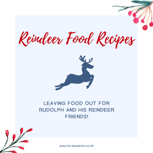 Leaving Food Out For Rudolph And His Reindeer Friends!