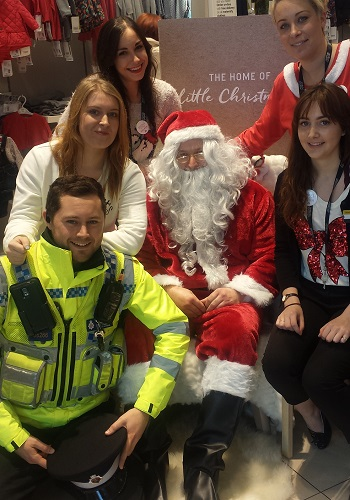 hire a santa and elves for office parties in Kent