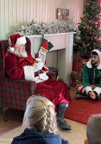 hire a santa for storytime Warwickshire