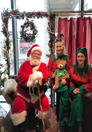 hire santa and elves in Reading